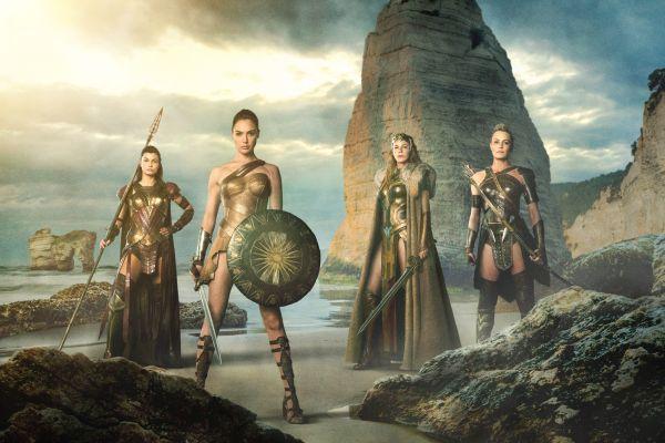 Wonder Woman jelenetfotó