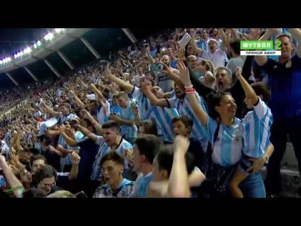 Embedded thumbnail for Messi büntetőjével nyert Argentína