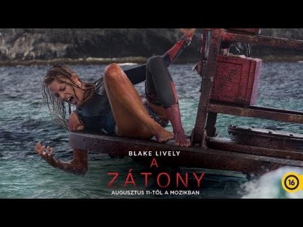 Embedded thumbnail for A zátony - Blake Lively meglovagolja a hullámokat