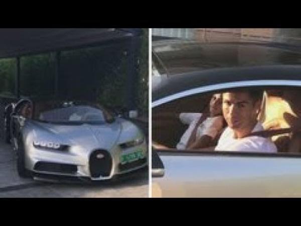 Embedded thumbnail for Cristiano Ronaldo a Bugattijában